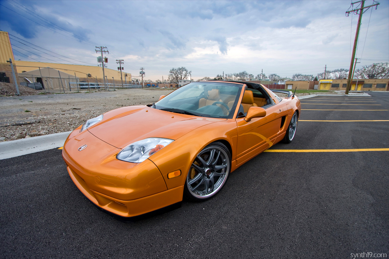 NSX Mods DONE (Teins/Volks/Downforce/etc) *HIGH RES PICS ...